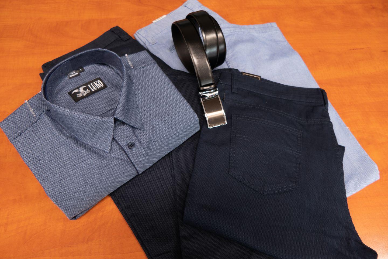 Pánské košile a kalhoty