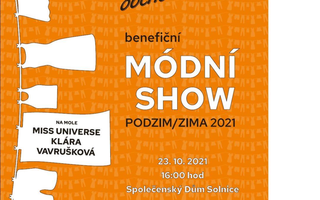 Prodáváme vstupenky na Módní show podzim/zima 2021 !!!